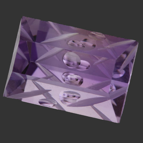 Ametrine Slice of Pie Cut