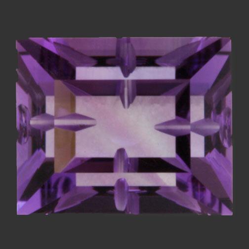 Bi-Color Amethyst Guernsey Maze Cut