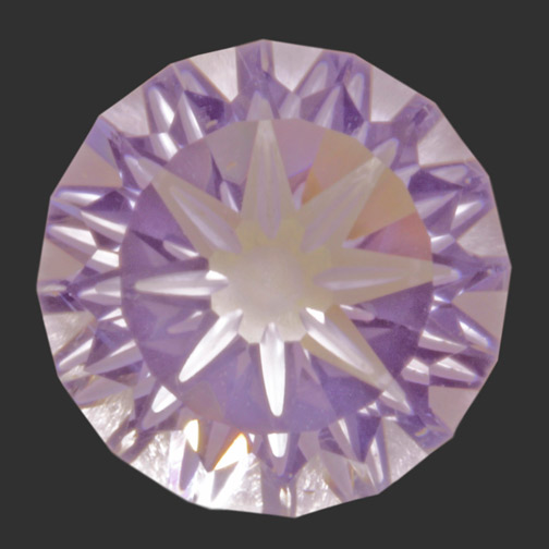 Lavender Quartz Compass Cut
