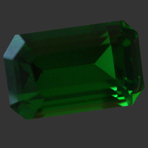 Medium Green Cubic Zirconia