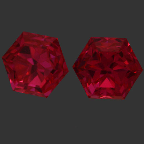 Ruby Pink Cubic Zirconia