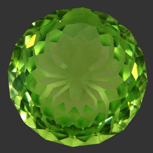 Green Peridot Cubic Zirconia
